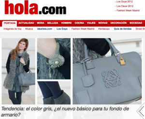 A TRENDY LIFE PORTADA DE HOLA.COM