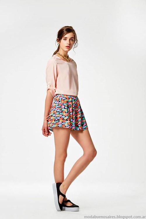 Estancias Chiripá primavera verano 2015 shorts.