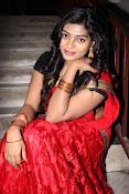 Sowmya glamorous half saree photos-thumbnail-4