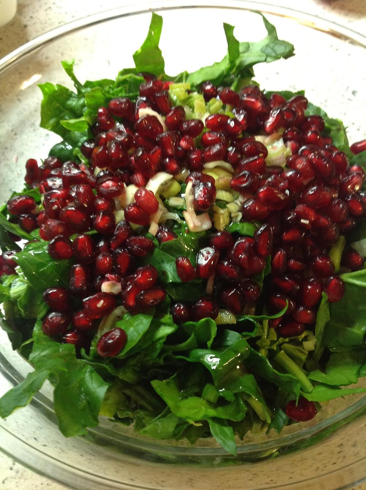 Diyet Elmalı Ispanak Salatası