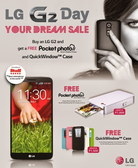 LG G2 Dream Day Sale October 20, 2013