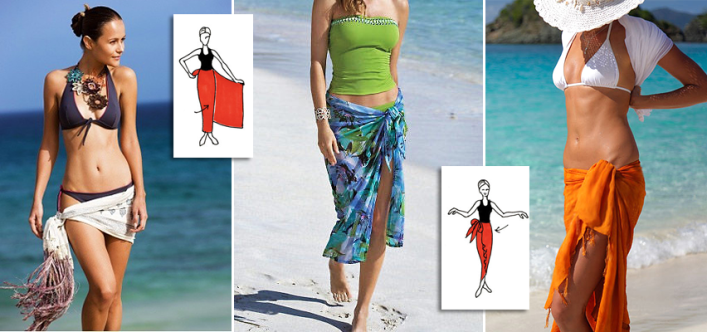 Popular DIY Crafts Blog: How to Tie a Sarong Dress and ...