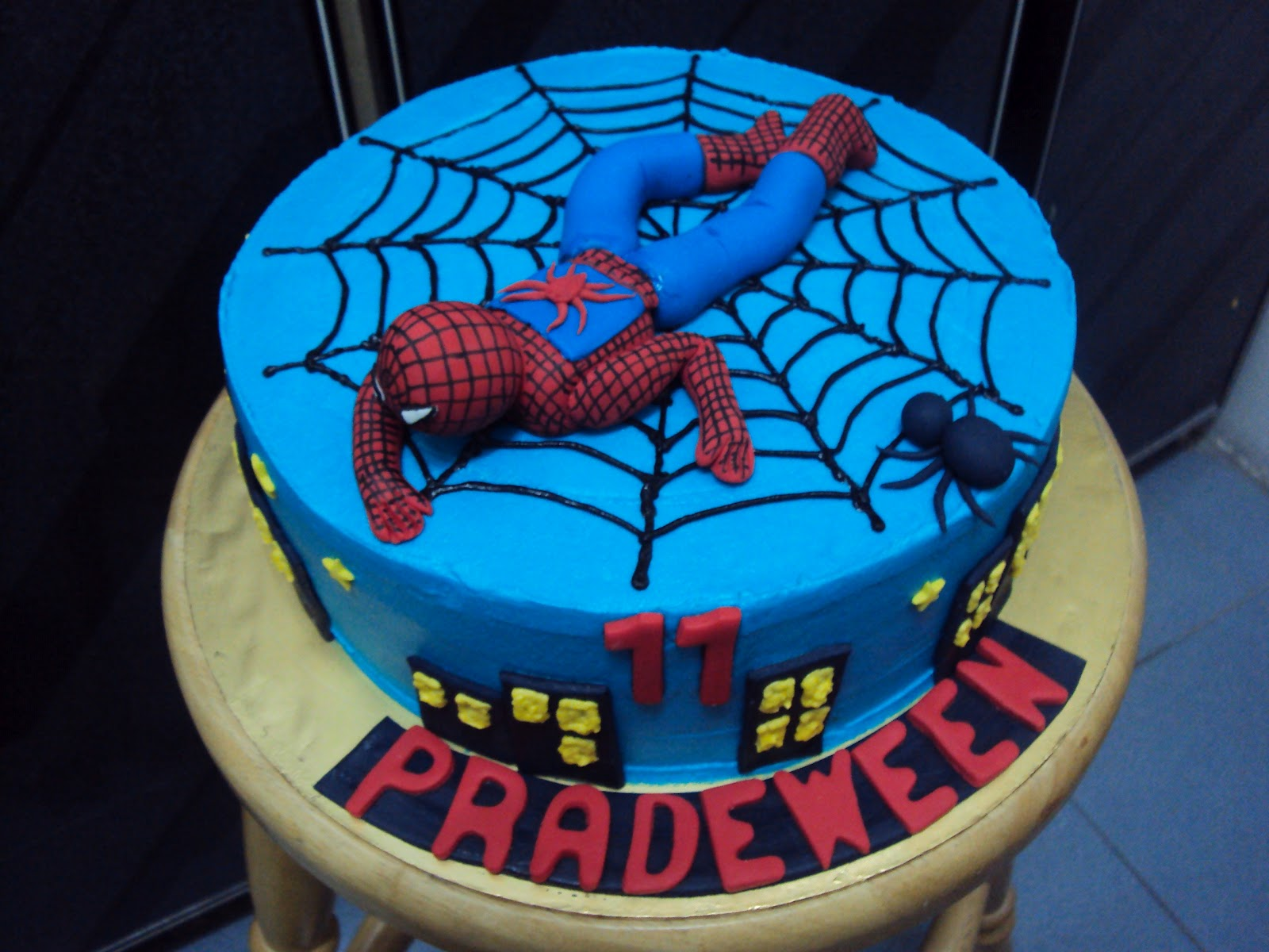 Spiderman Ice Cream Cake Singapore