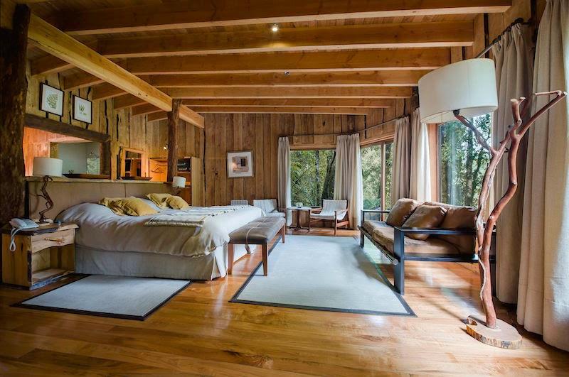 Nawelpi Lodge, hospedagem de luxo da reserva