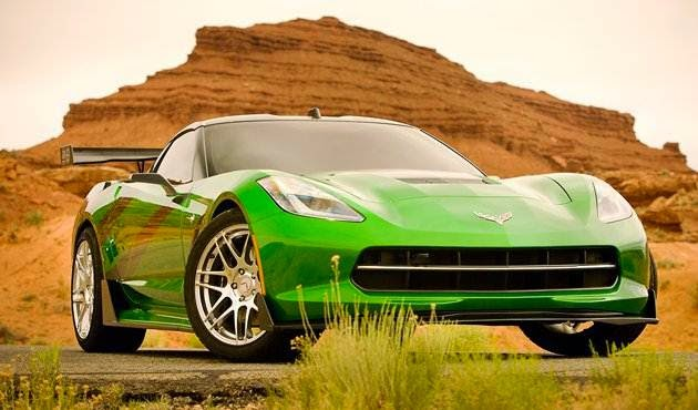 Transformers 4 - C7 Corvette Stingray