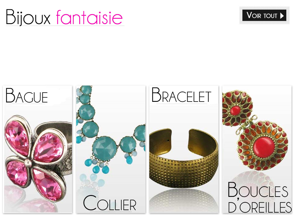 Bijoux Fantaisie Yos : Make all yourself