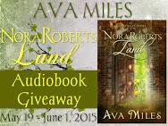 Nora Roberts Land Audible Giveaway