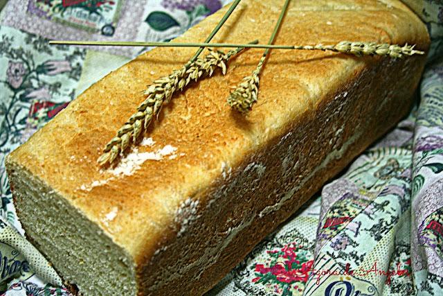 pan de leche de almendra, pan de molde tipo inglés,Dan Lepard
