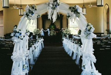 Church Wedding Decoration Arch