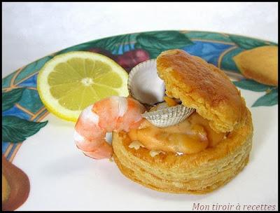 bouchée à la reine fruits de mer