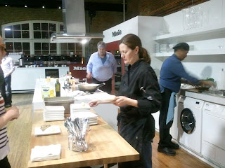 Chef Andrew Chase & staff, The Market Kitchen, St Lawrence Market