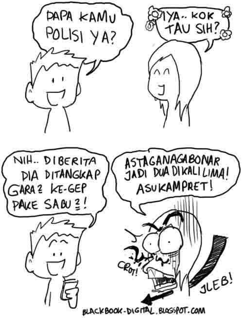 Komik Lucu Gombal