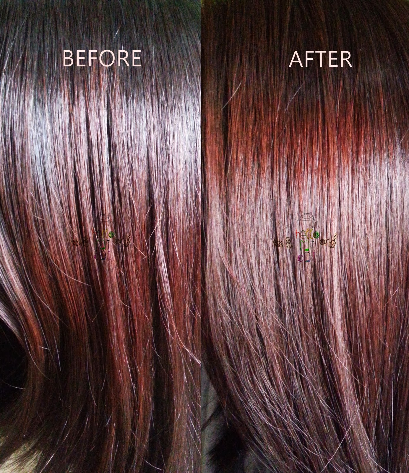 Liese bubble hair color in cassis berry review