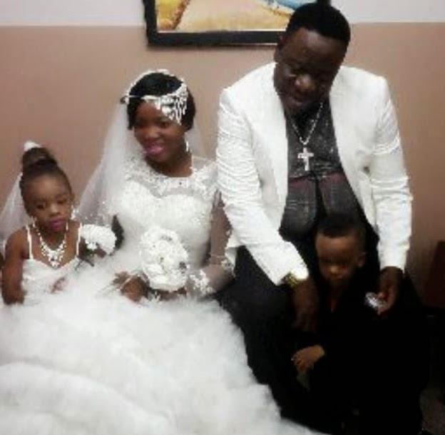 Mr Ibu's Secret Church Wedding Pictures: John Okafor & Wife Married ...
