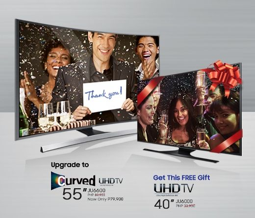 Samsung TV Thank You Promo