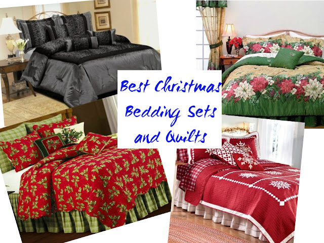 christmas bedding sets and quilts