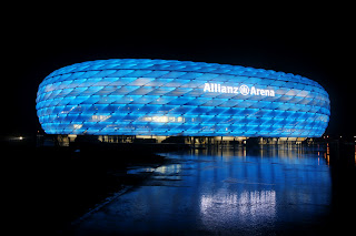 Bayern Munich Alianz Arena Night View HD Wallpaper