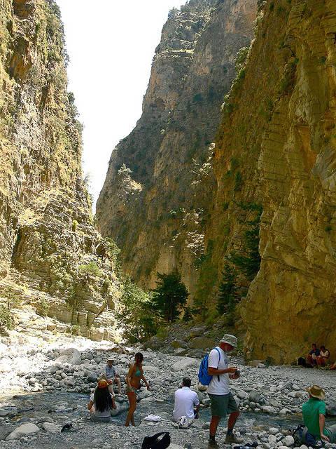 ΕΘΝΙΚΟΣ ΔΡΥΜΟΣ ΛΕΥΚΩΝ ΟΡΕΩΝ (ΣΑΜΑΡΙΑΣ) / Samaria gorge.. crete