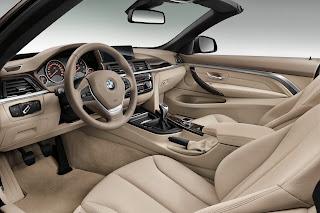 BMW Serie 4 Cabrio interni
