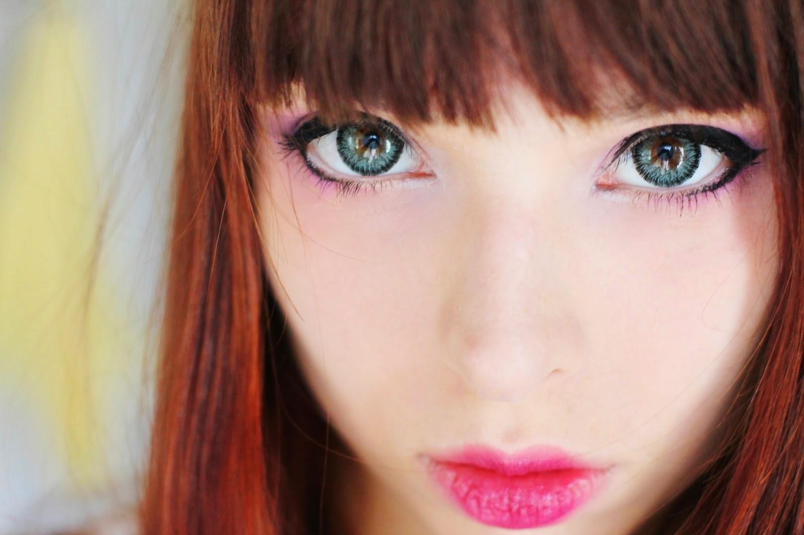 Natural Looking Circle Lenses: Dolly Eye Jewel Grey