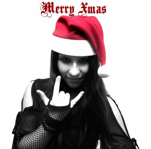 Resultado de imagem para feliz natal gotico
