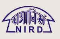 NIRD Recruitment 2014-15 And Syllabus, Previous Papers