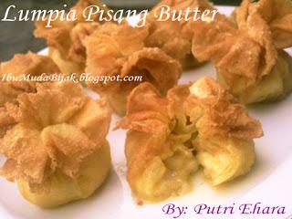 Lumpia Pisang Butter