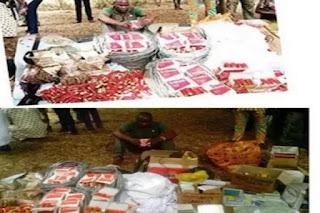 Breaking news:Popular Nigerian pastor arrested with tramadol, guns, N4 Million.