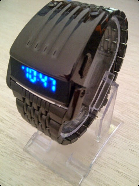 Iron Man Led Watch