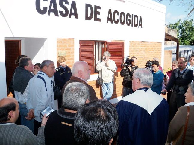 Municipalidad de goya para v ctimas de violencia inauguraron en goya casa de acogida - Casa de acogida ...