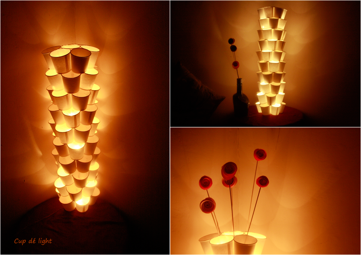 """The amazing """" Cup de Light """" that has been zooming around the ..."""