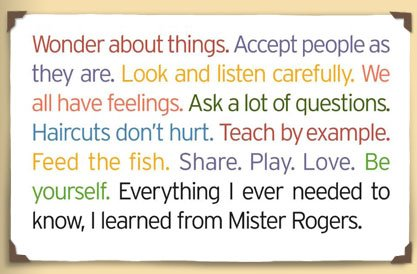 One Savvy Mom Nyc Area Mom Blog Fred Rogers Beloved