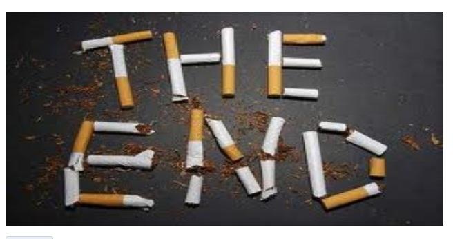 Smettere di fumare la pulizia di polmoni