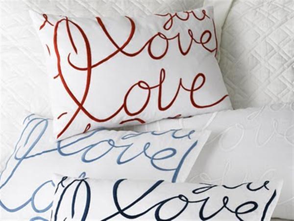 Romantic Decor 101: Love Cushions - Part 2 ~ Crafts and Decor