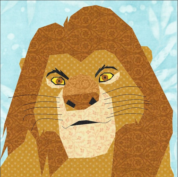 misha29: Lion King : lion quilt pattern - Adamdwight.com