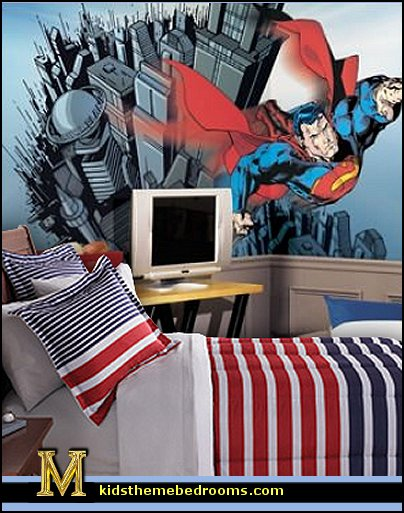 bedroom ideas batman spiderman superman decor superman
