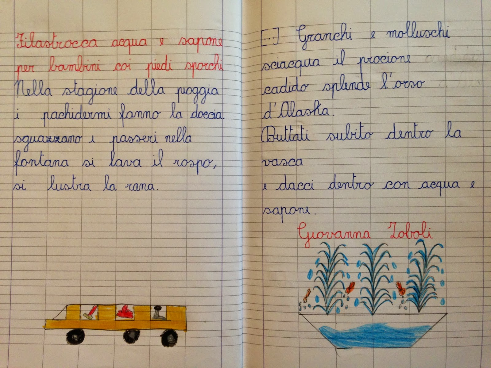 Connu APEdario: Filastrocca acqua e sapone per bambini coi piedi sporchi MH11