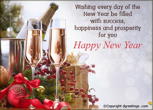 Business new year wishes cards 2015 happy new year 2015 business new year cards 2015 for client partner colleague m4hsunfo
