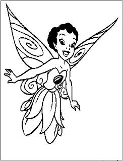 Disney Fairy coloring pages | Disney Digital 3D