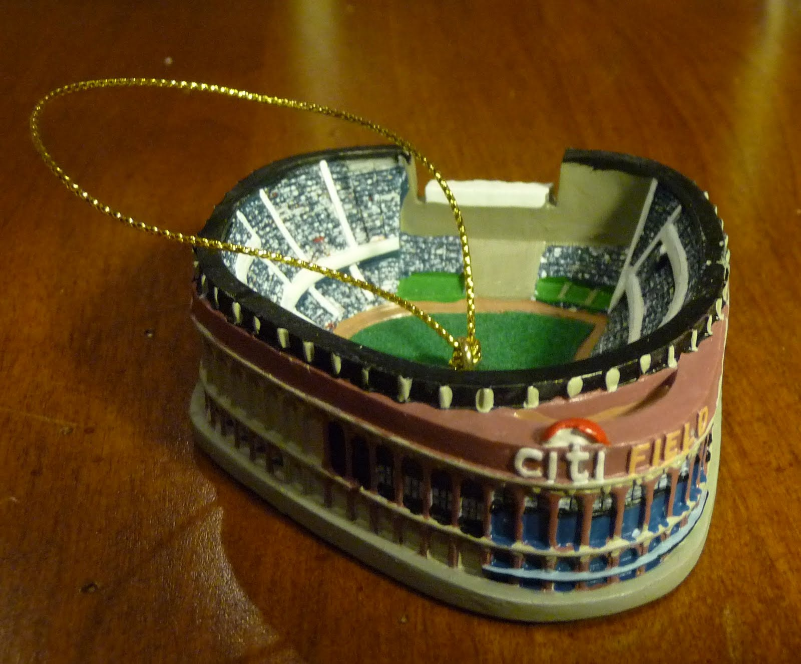 Mets Guy in Michigan: Mets ornament of the day: Citi Field