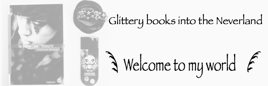 Glittery books into the Neverland