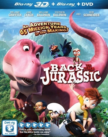 Back to the Jurassic (2015) 3D Latino
