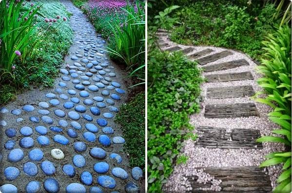 Ideje za kamene staze u dvorištu - Moj Vrt Cvijeća