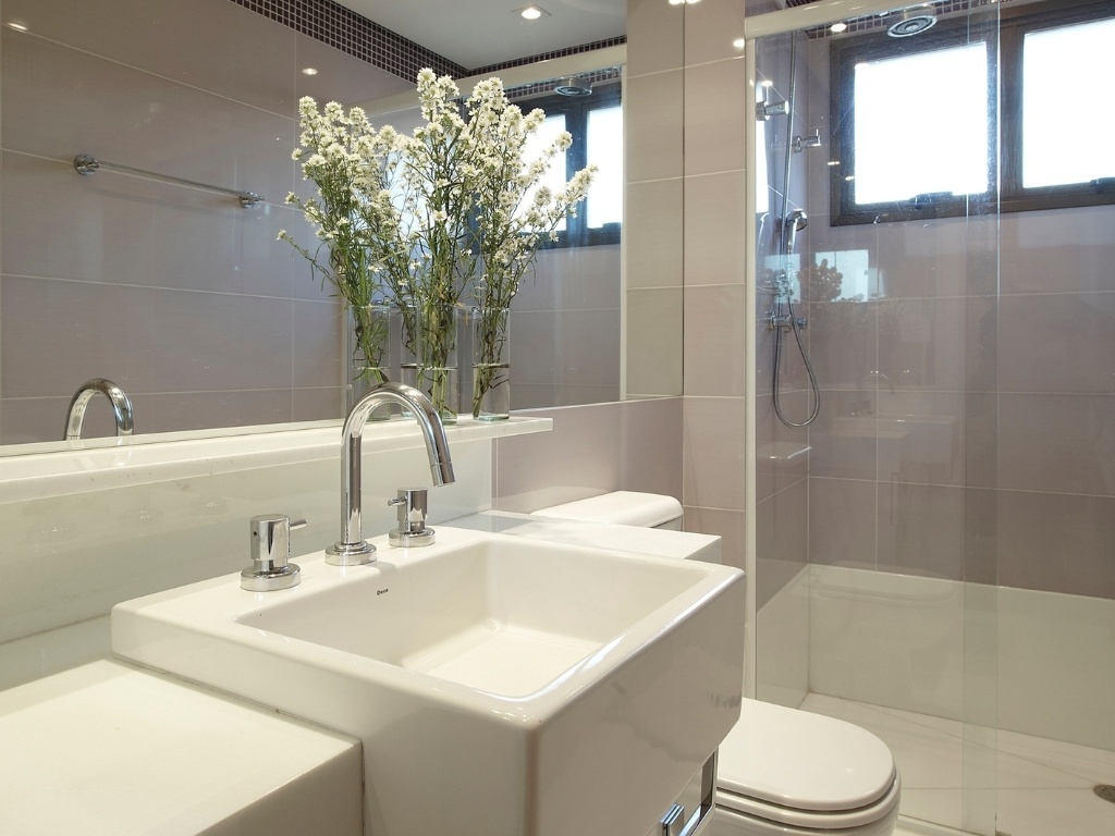 Gabinete Para Banheiro Acabamentos em banheiros pequenos -> Banheiro Pequeno Gabinete