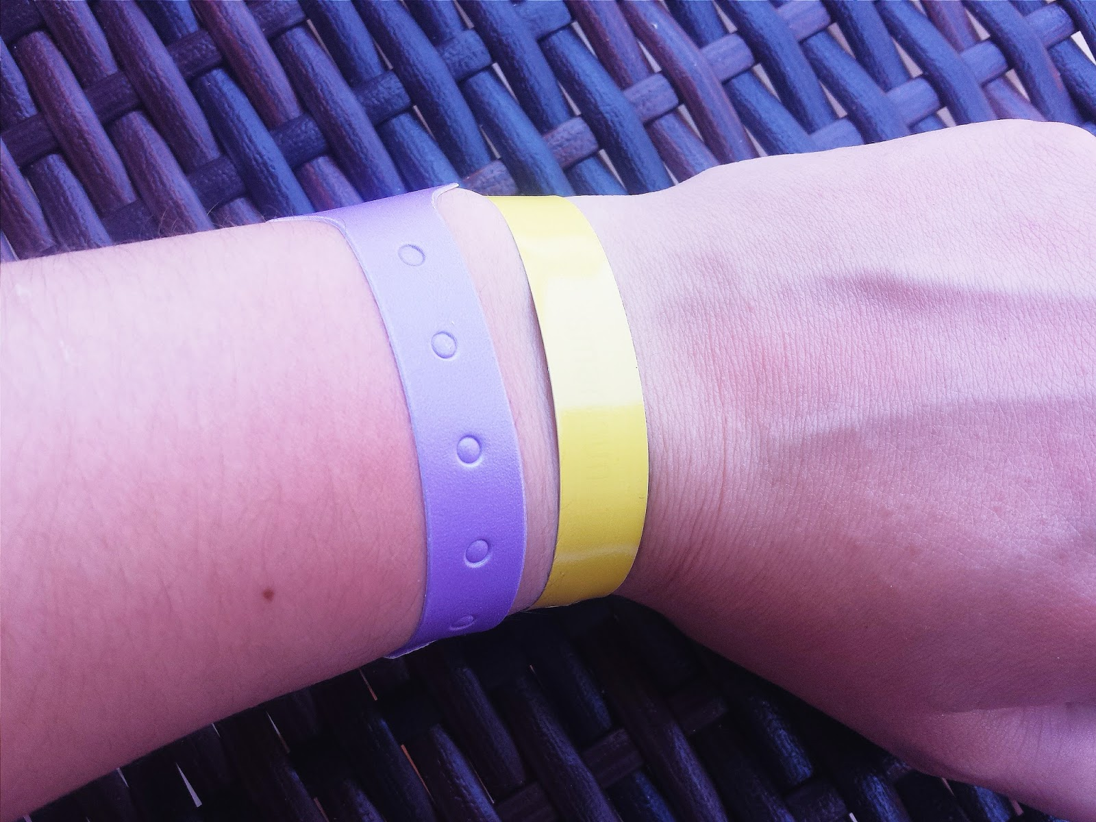 Smart Sun UK UV Sun Safe Wristband Yellow