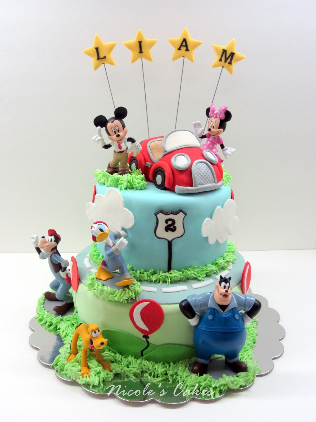 Confections Cakes Amp Creations Mickey S New Car