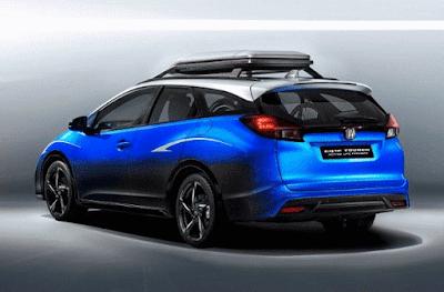 Mobil honda baru Active Life Civic Tourer akan dipamerkan di ajang Frankfurt Motor Show 2015. Mobil konsep Honda ini menawarkan kepraktisan yang lebih baik dari model sedan Civic pendahulunya.