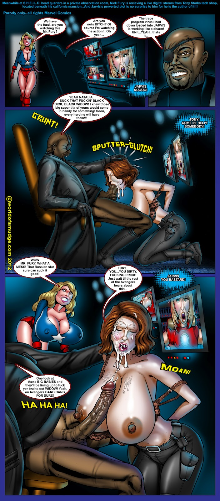 Iron woman porn sexy wet porn star