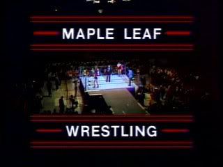 Maple Leaf Wrestling on CHCH-TV