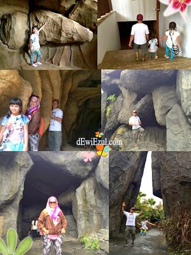 zaman batu,jalan jalan ke Taman Nusa bali bersama anak